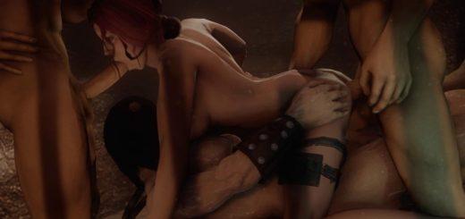 oral sex position stick figures