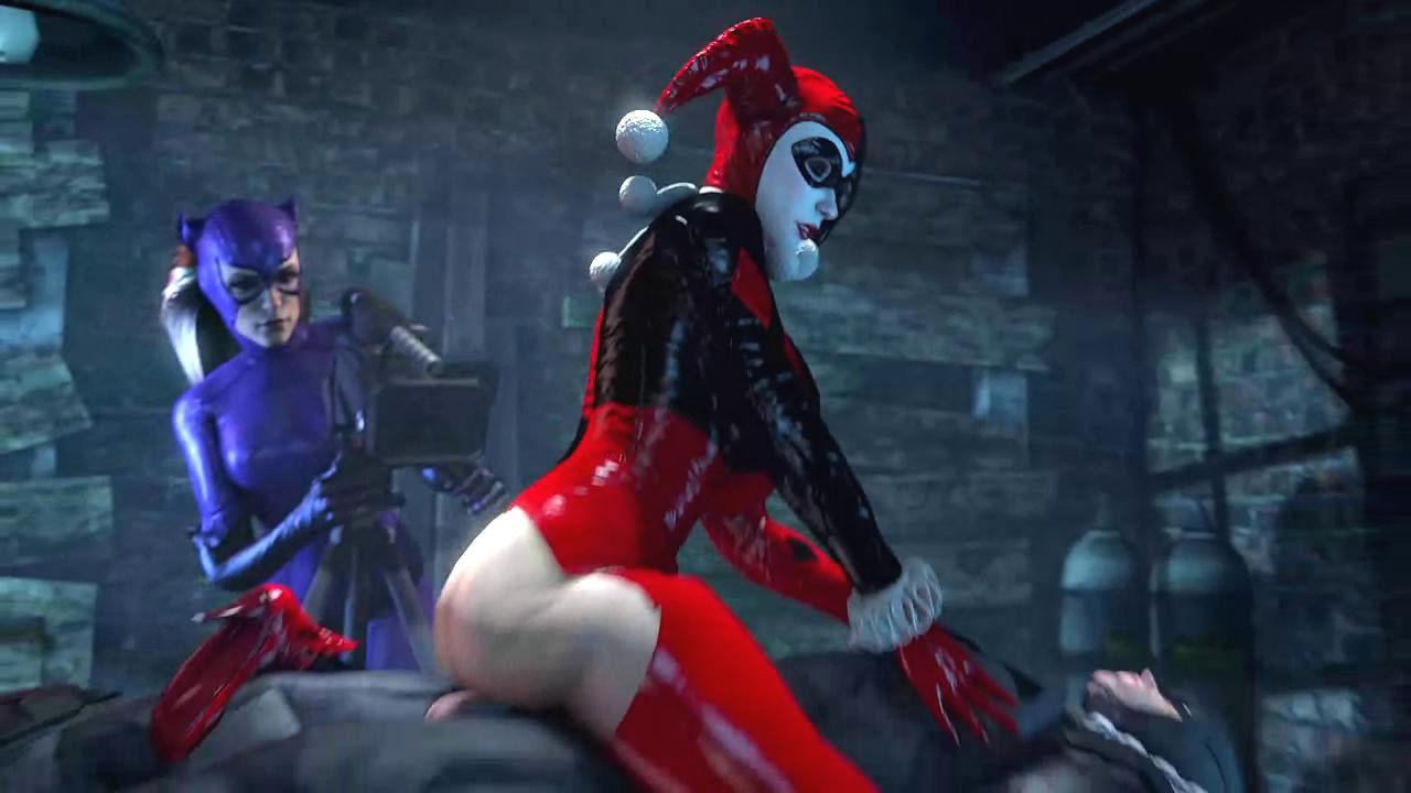 Harley Quinn Fucking Batman