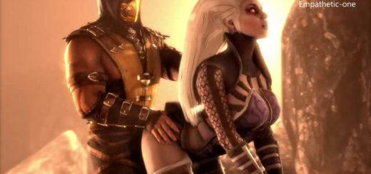cartoon porno Mortal Kombat ragazze calde con la figa