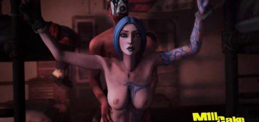 Порно бордэрлэндс