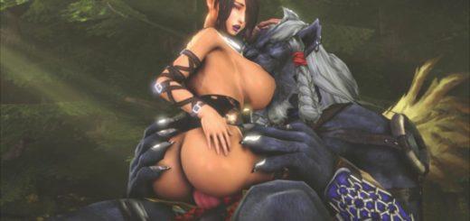 porn monster Final fantasy