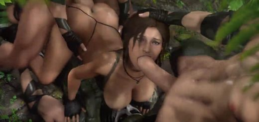Lara croft tomb raider porn