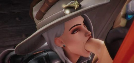 Tracer Blowjob Gif 4